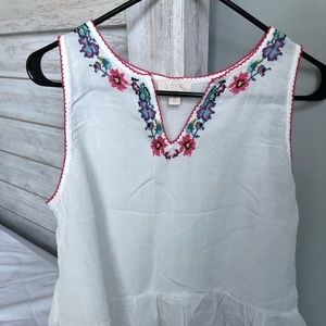 Gap Embroidered Tank Top